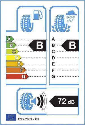 L'etichetta che trovi su tutti i nuovi penumatici per garantire la trasparenza delle caratteristiche.